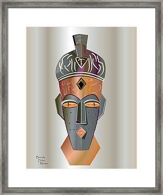 Mhask I I I Framed Print
