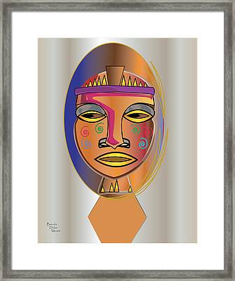 Mhask I V Framed Print