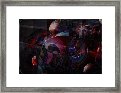 Mhbabst Framed Print by Ove Rosen