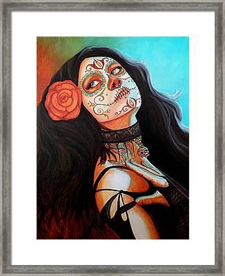 Mi Amor Siempre Estara Contigo Framed Print by Al  Molina