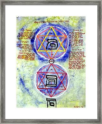 Mi And Ma Framed Print by Luke Galutia