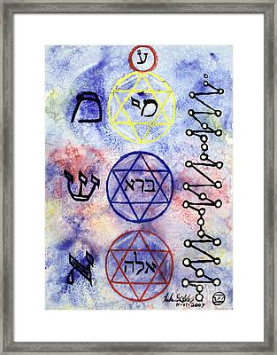 Mi Bara Elay Framed Print by Luke Galutia
