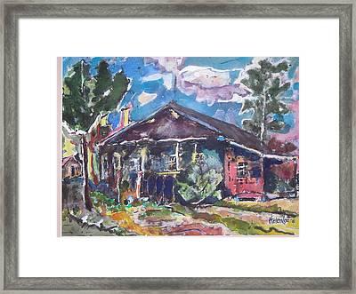 Mi Casa Framed Print