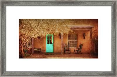 Mi Casa Framed Print by Nikolyn McDonald
