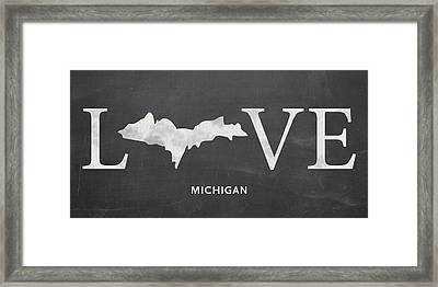 Mi Love Framed Print