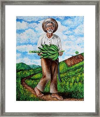 Mi Pan Es Tu Pan... Framed Print