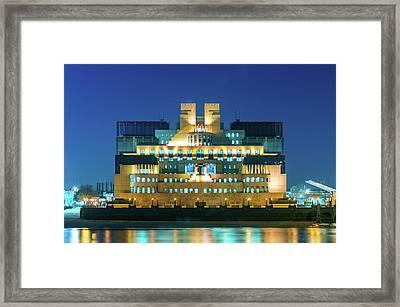 Framed Print featuring the photograph Mi6 by Stewart Marsden