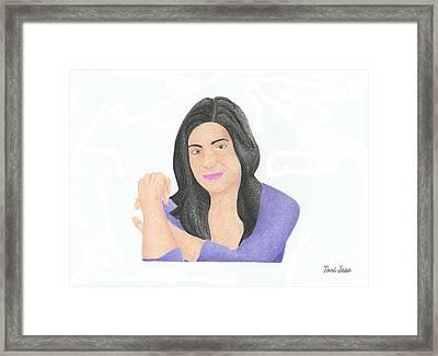 Mia Rose Framed Print