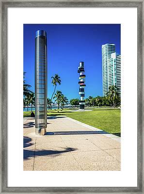 Miami Beach Series 4497 Framed Print