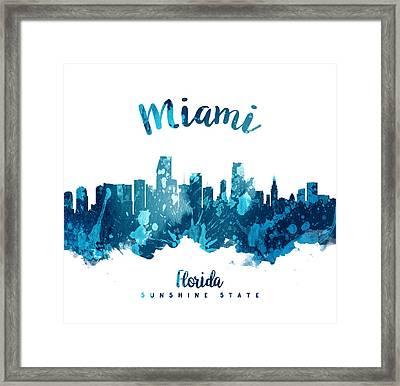 Miami Florida 27 Framed Print