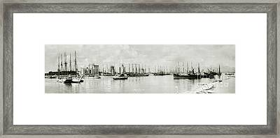 Miami, Florida Circa 1925  Framed Print by Jon Neidert