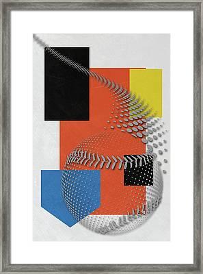 Miami Marlins Art Framed Print by Joe Hamilton