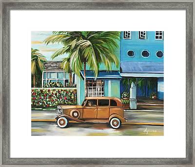 Miami Nice Framed Print by Dyanne Parker