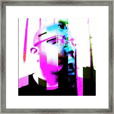 Miami Slice Framed Print by Eric Rivas