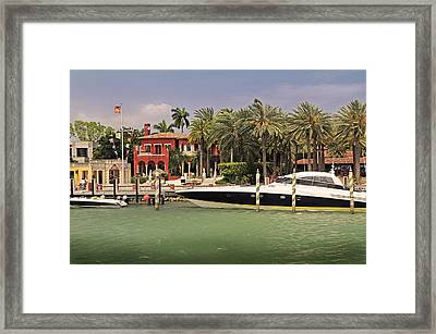 Miami Style Framed Print