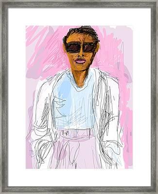 Miami Vice Framed Print