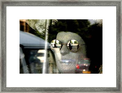 Mica Framed Print by Jez C Self