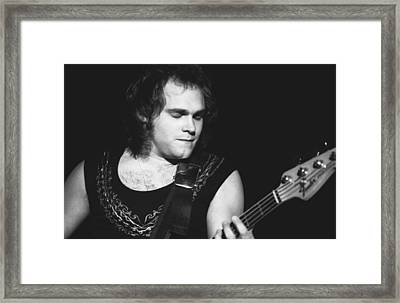 Michael Anthony Framed Print by Ben Upham