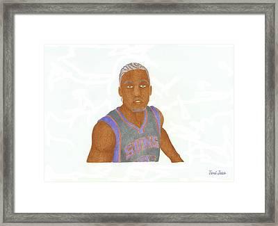 Michael Beasley  Framed Print