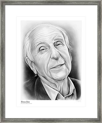 Michael Bond Framed Print