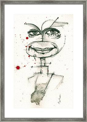 Michael C. Hall As Dexter Morgan Framed Print by Mark M  Mellon
