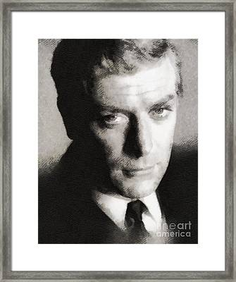 Michael Caine, Actor Framed Print