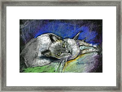 Michael Campbell Framed Print by Arline Wagner