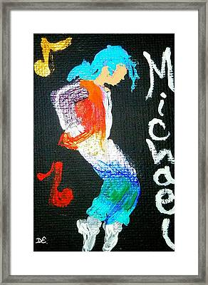 Michael Framed Print by Deborah Evers
