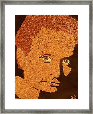 Michael Douglas Framed Print by Kovats Daniela