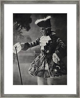 Michael Fokine Also Mikhail Fokin 1880 Framed Print by Vintage Design Pics