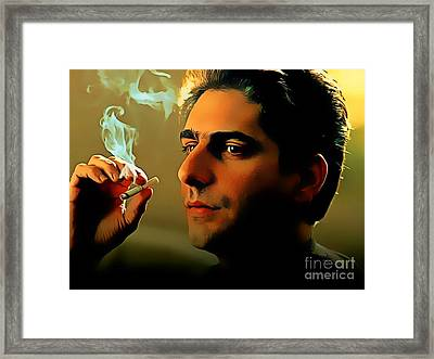 Michael Imperioli As Chris Framed Print