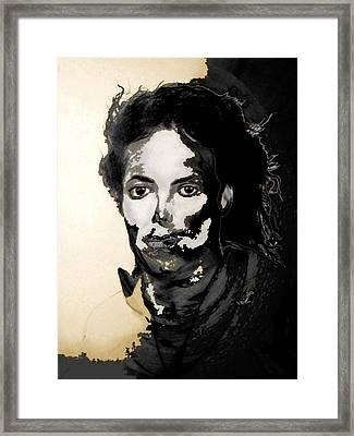 Michael J Framed Print