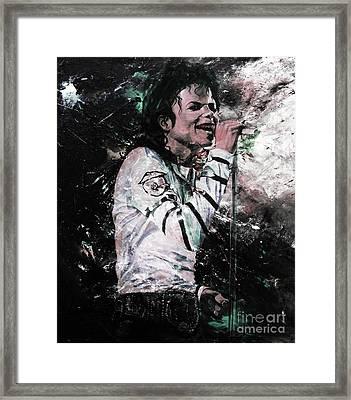 Michael Jackson 01  Framed Print