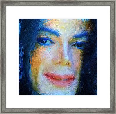 Michael Jackson 04 Framed Print