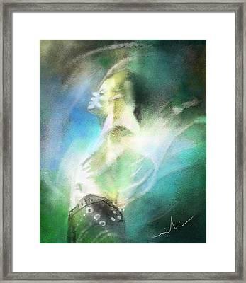 Michael Jackson 15 Framed Print by Miki De Goodaboom