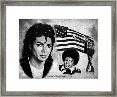 Michael Jackson Framed Print by Andrew Read