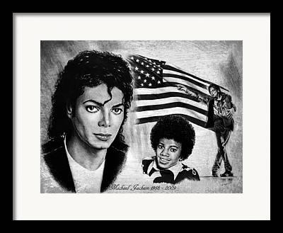 Jacko Drawings Framed Prints