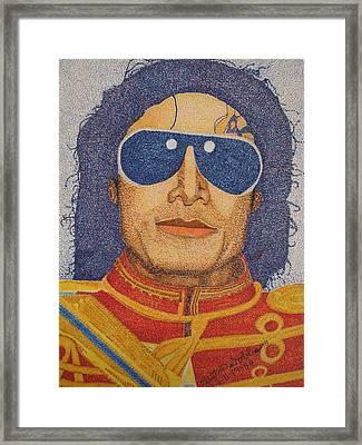 Michael Jackson Framed Print by Clifton Dobbs