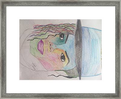 Michael Jackson Color Pencil Sketch Framed Print by Shashank Morje