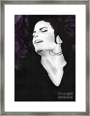 Michael Jackson #fifteen Framed Print
