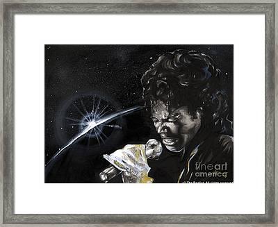 Michael Jackson Framed Print by Keith  Thurman