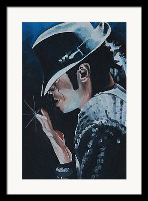 Michael Jackson Art For Sale Framed Prints