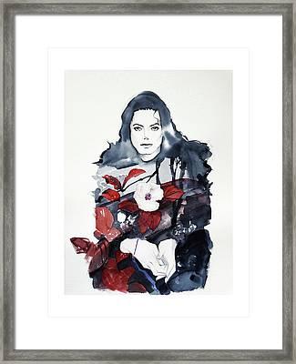 Michael Jackson - Shiny Day Framed Print
