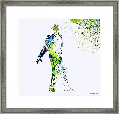 Michael Jackson Framed Print by Sir Josef - Social Critic -  Maha Art