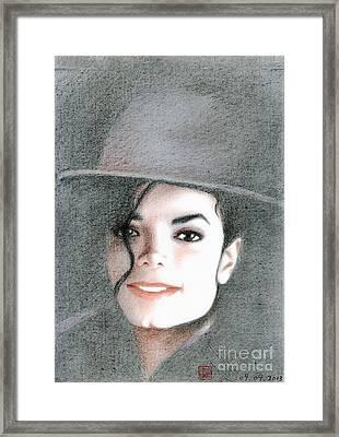 Michael Jackson #sixteen Framed Print