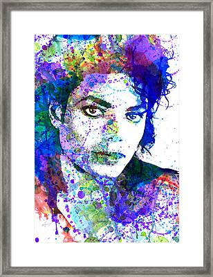 Michael Jacksons Framed Print by Dante Blacksmith