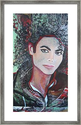 Michael Framed Print