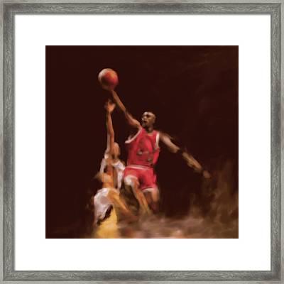 Michael Jordan 548 2 Framed Print