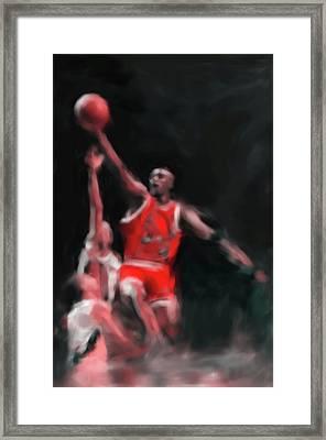 Michael Jordan 548 3 Framed Print