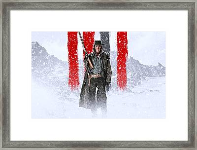 Michael Madsen The Hateful Eight Framed Print by Movie Poster Prints